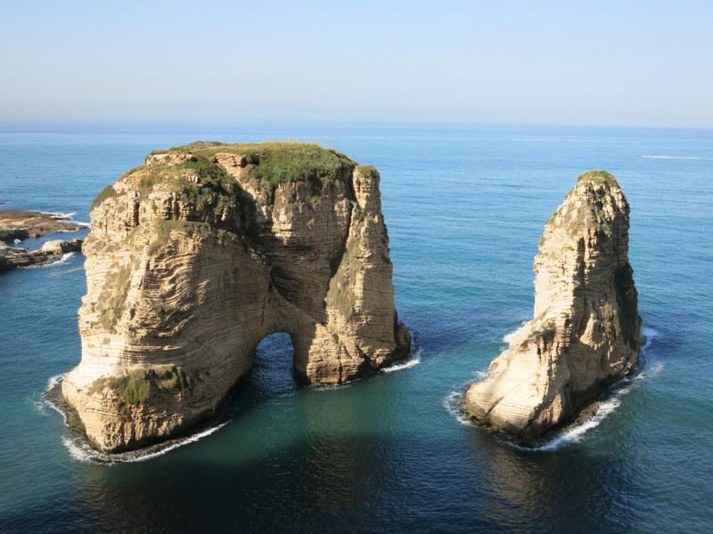 Güvercin Kayalıkları Beyrut