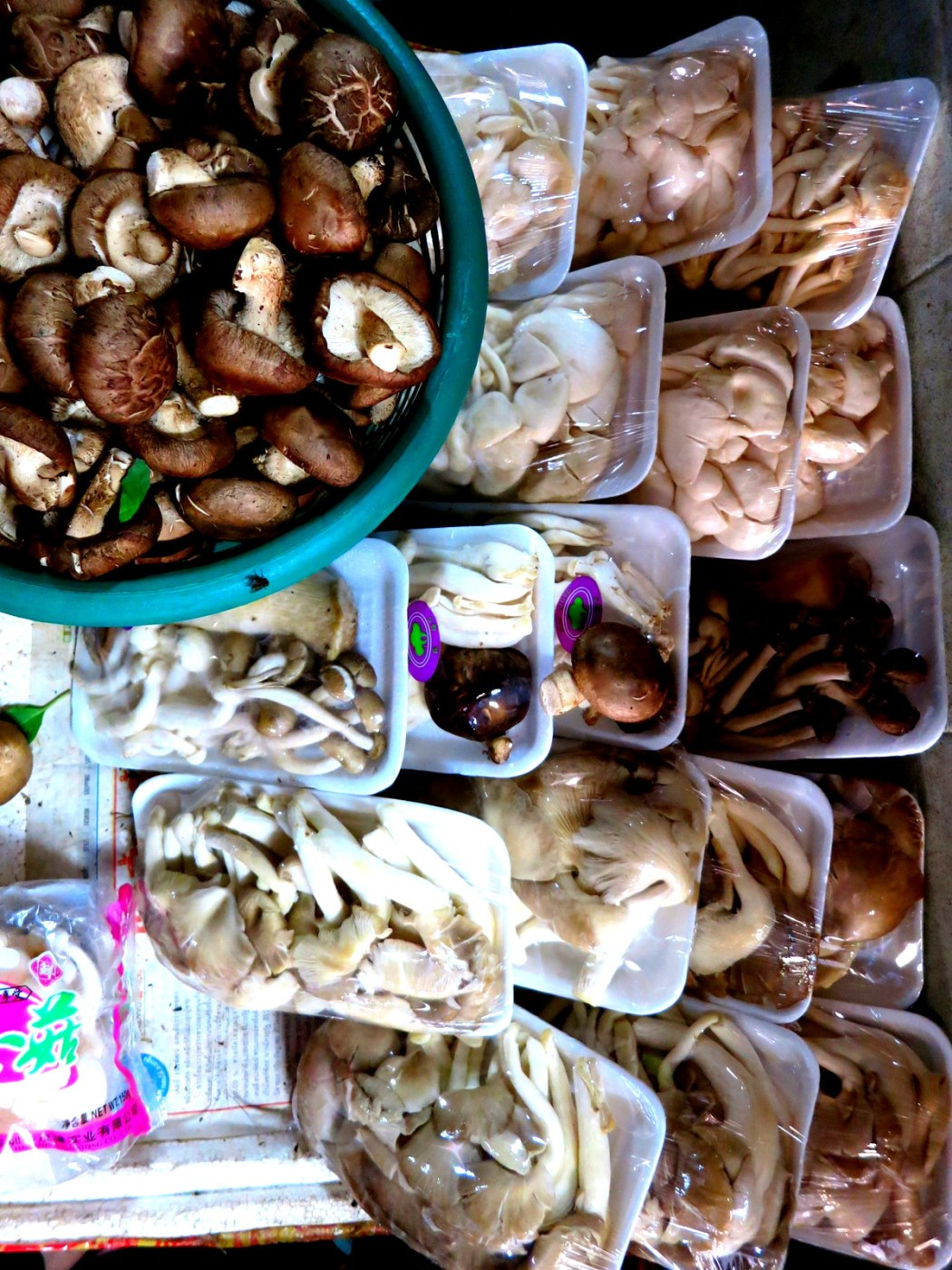 Bangkok Pazar alışverişi