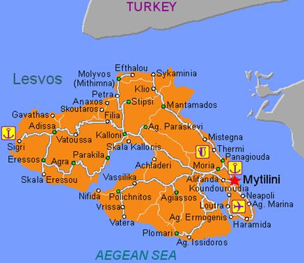 Midilli haritası
