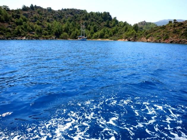 Datça Aktur'dan Selimiye'ye tekne Turu