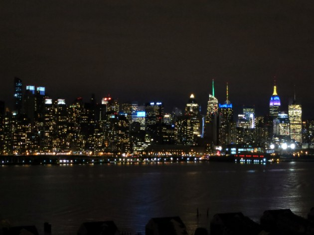 New York Manhattan Skyline from New Jersey
