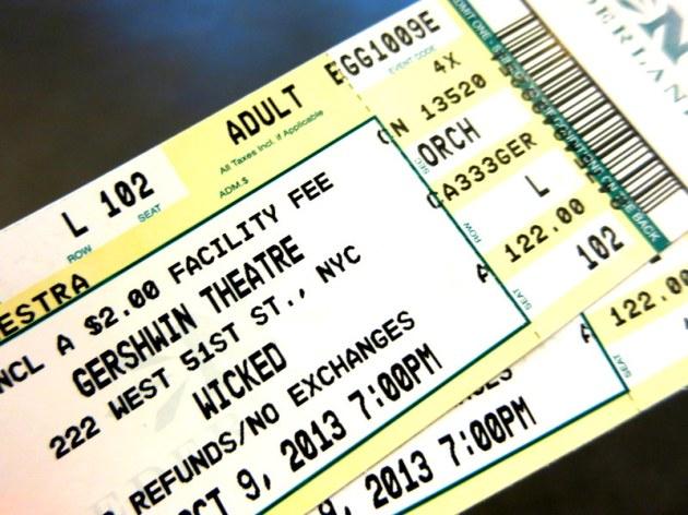 Gershwin Theater New York Wicked