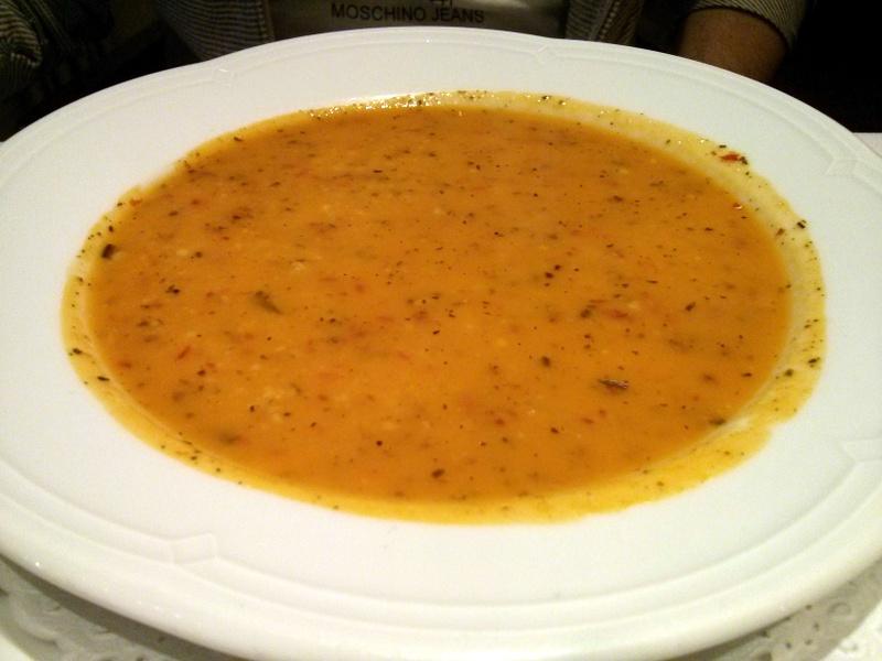 Asitane- Kestaneli Terine Çorbası