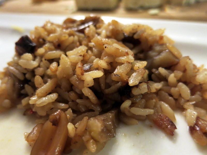 Fıstıklı kestaneli ve üzümlü pilav