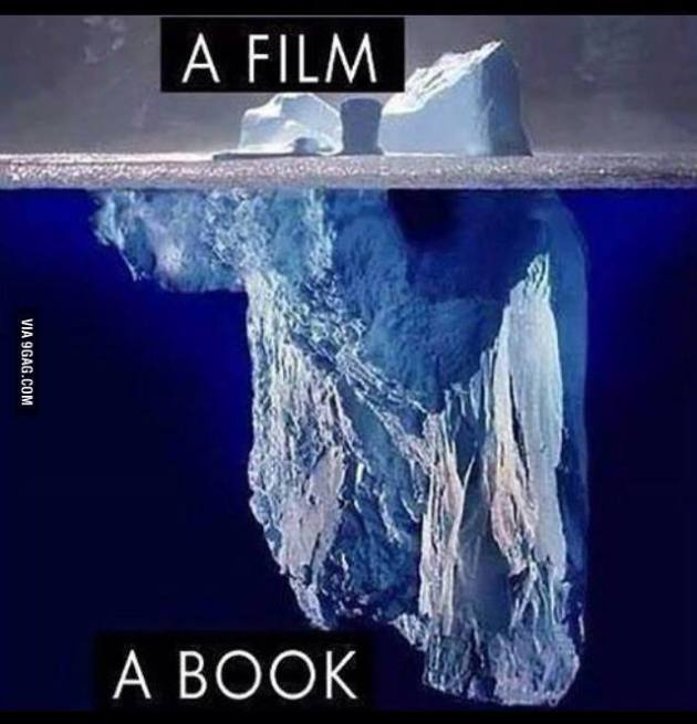 a book vs a movie