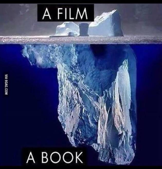 a book vs a movie