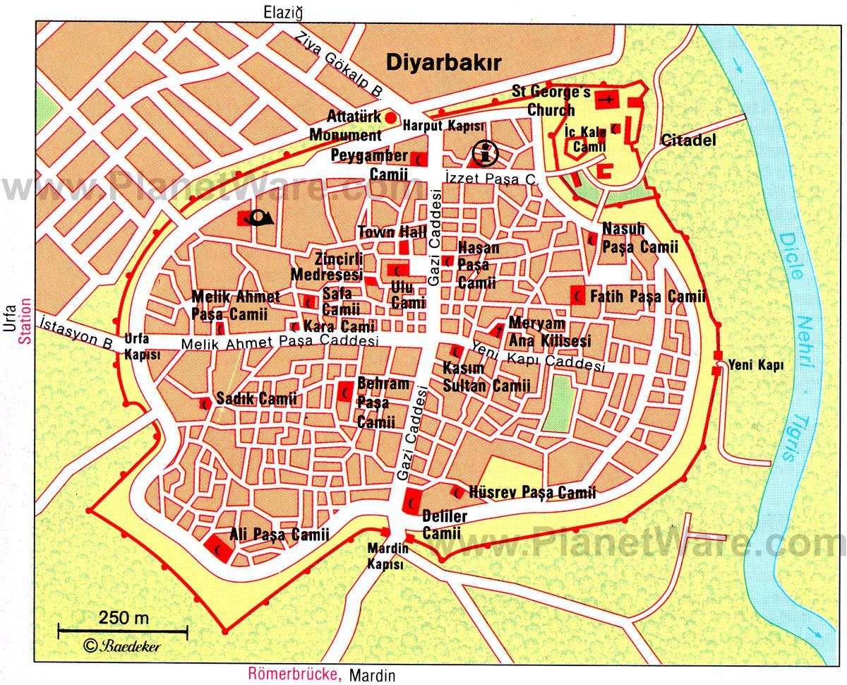 Diyarbakir Turkey  city photos gallery : Diyarbakır : Sülüklü Han, Hasan Paşa Hanı, Erdebil Köşkü, Ulu ...
