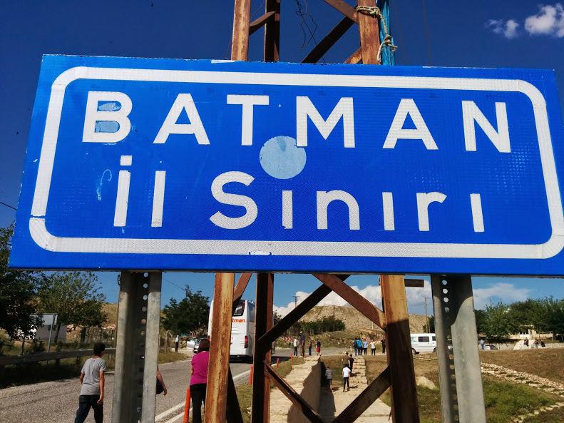 Batman İl Sınırı