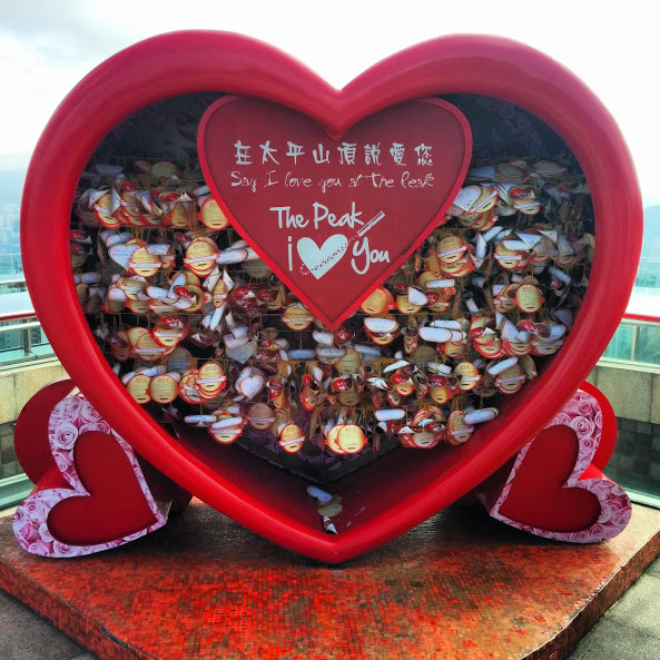 heart at Victoria Peak
