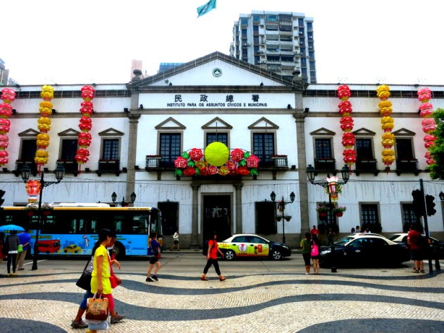 Macau centre- Old Senado