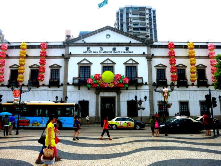 Macau centre- Old Senado
