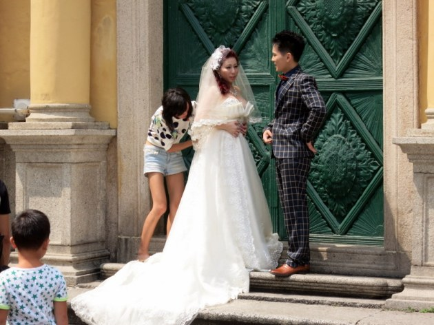 Just Married- Macau
