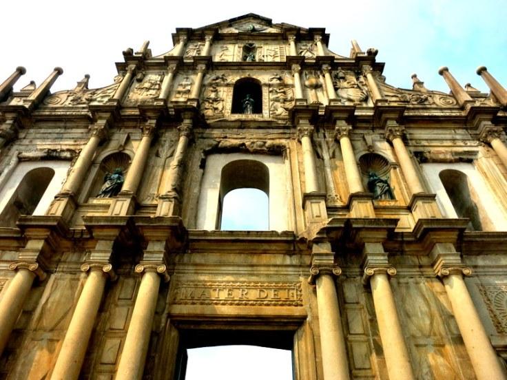 Ruin's of St. Paul