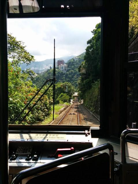 tram from victoria peak