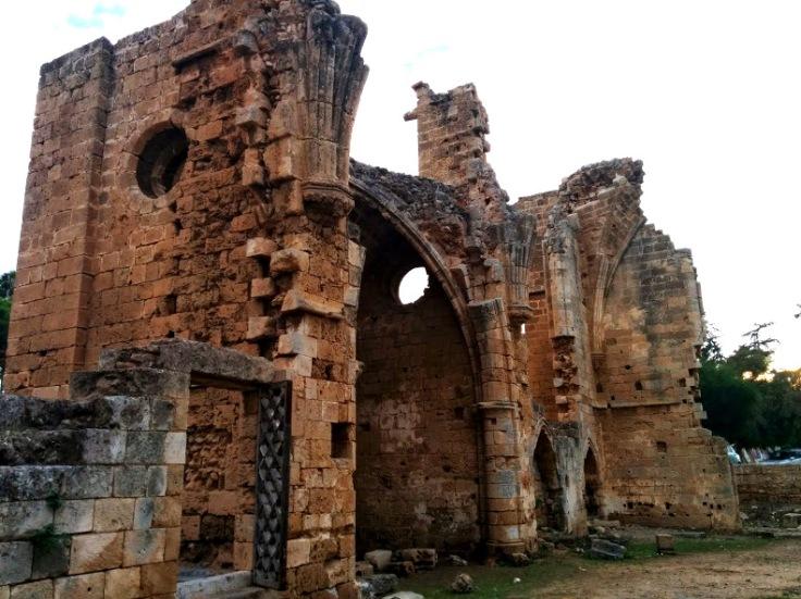 Magusa tarihi şehir merkezi