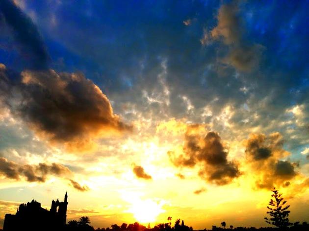 Mağusa gün batımı