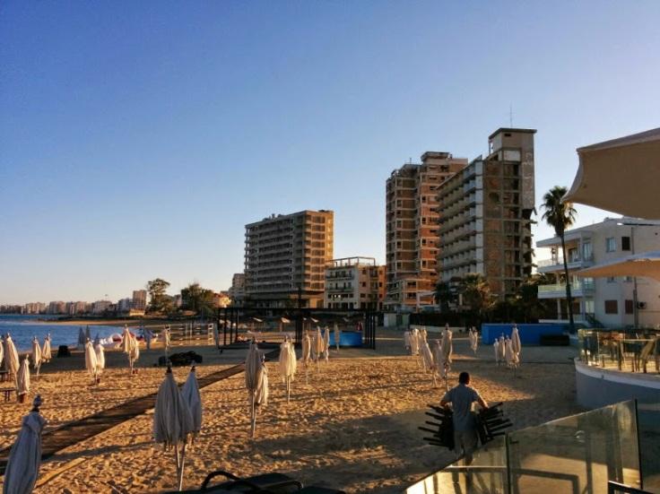 Kıbrıs kapalı Maraş bölgesi