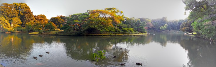 Rikugien parkı